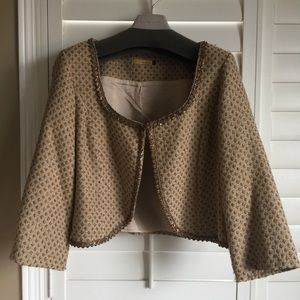 Vintage Tweed Cropped Blazer